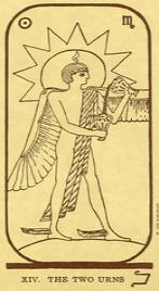 Значение карты Умеренность в колоде Таро Манара по книге Эротическое таро