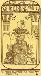 Значение карты Жрец в колоде Таро Манара по книге Эротическое таро