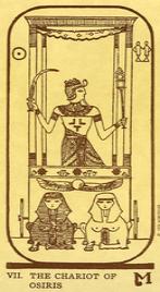 Значение карты Колесница в колоде Таро Манара по книге Эротическое таро