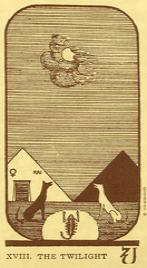 Значение карты Луна в колоде Таро Манара по книге Эротическое таро